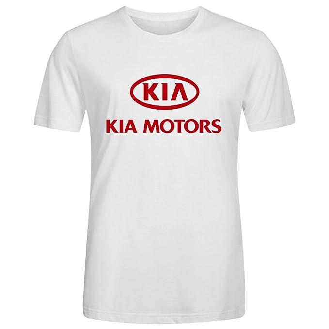 5ae24a78ed1 Car Zoom T-Shirt SS Crew Running tee - Camiseta Camisa de Kia Motors  Deportivas para Hombre Blanco  Amazon.es  Ropa y accesorios