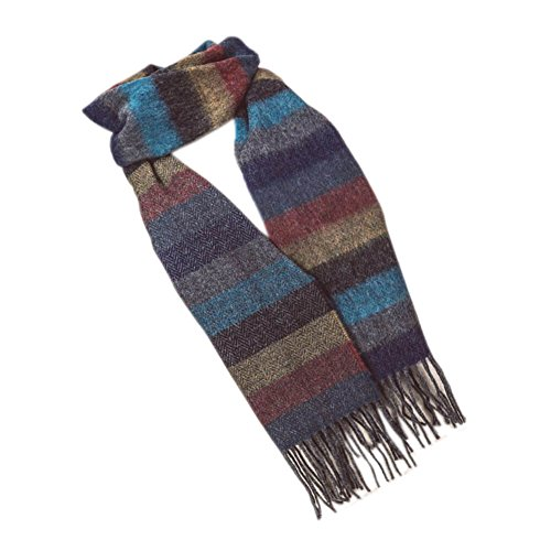 Luxurious Lambswool Scarf, Made In Ireland, Unisex, One size fits most (Wollen Mens Scarf)