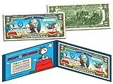 PEANUTSSNOOPY vs. RED BARON Legal Tender US $2 BillLICENSED Charlie Brown by Merrick Mint