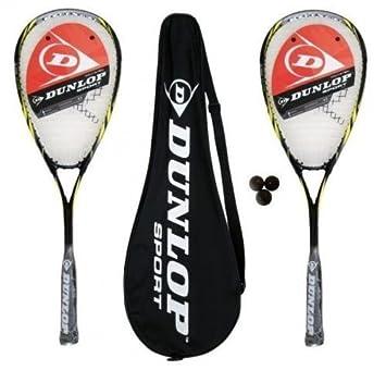 Dunlop Biotec Max Ti Raquetas Squash + 3 Pelotas de Squash 2x: Amazon.es: Deportes y aire libre