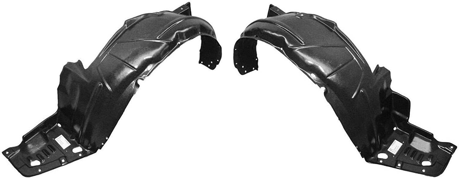Front Right+Left Side New Set of 2 Splash Shields Fender Liner LH /& RH TSX Pair