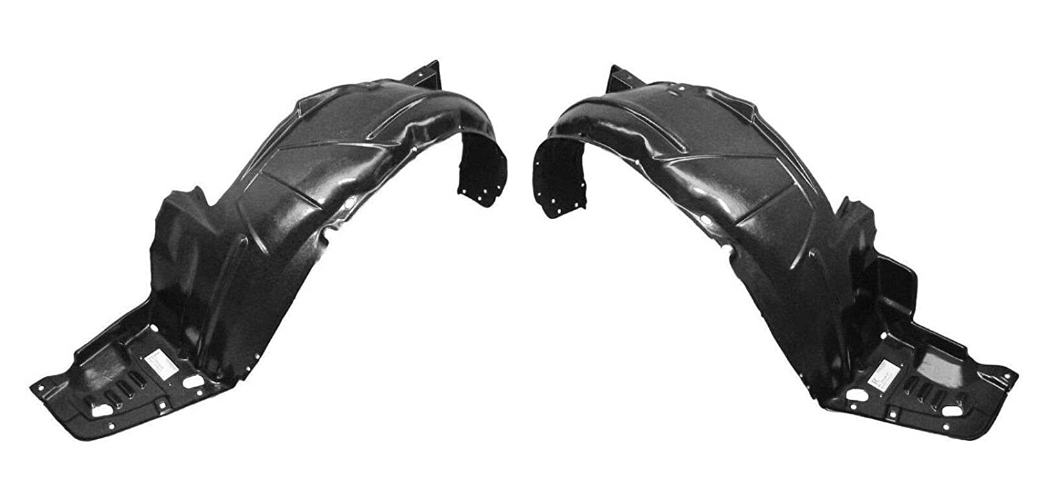 AC1249118 74151SEA00 Parts N Go 2004-2005 Acura TSX Fender Liner Pair Driver /& Passenger Side Splash Guard