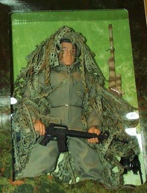 "G.I. Joe U.S. Marine Corps Sniper 12"" Action (Gi Joe Marine)"