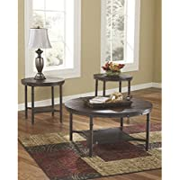 Flash Furniture Signature Design by Ashley Sandling 3 Piece Occasional Table Set
