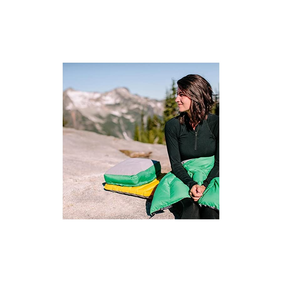 Paria Outdoor Products Down Backpacking Pillow Ultralight, Compact, and Extremely Comfortable Perfect for Camping, Backpacking, and Hammocks