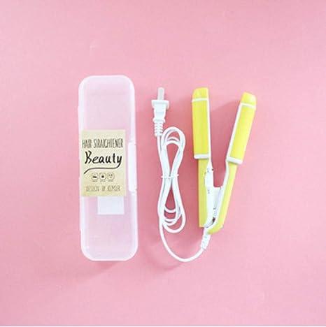 Rizador eléctrico para el cabello, mini dibujo animado recto ...