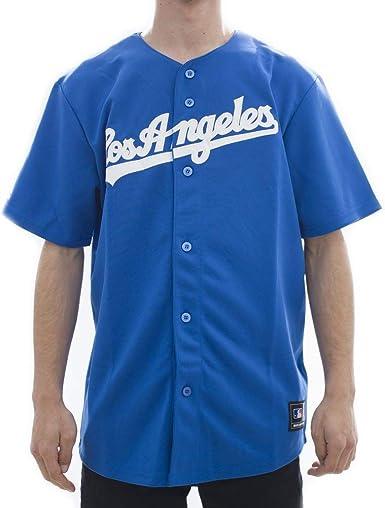 Majestic los Angeles L.A. Dodgers MLB Camiseta Jersey Road ...