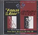 Fiddler on the Roof/Gypsy/Man of La Mancha/Funny Girl