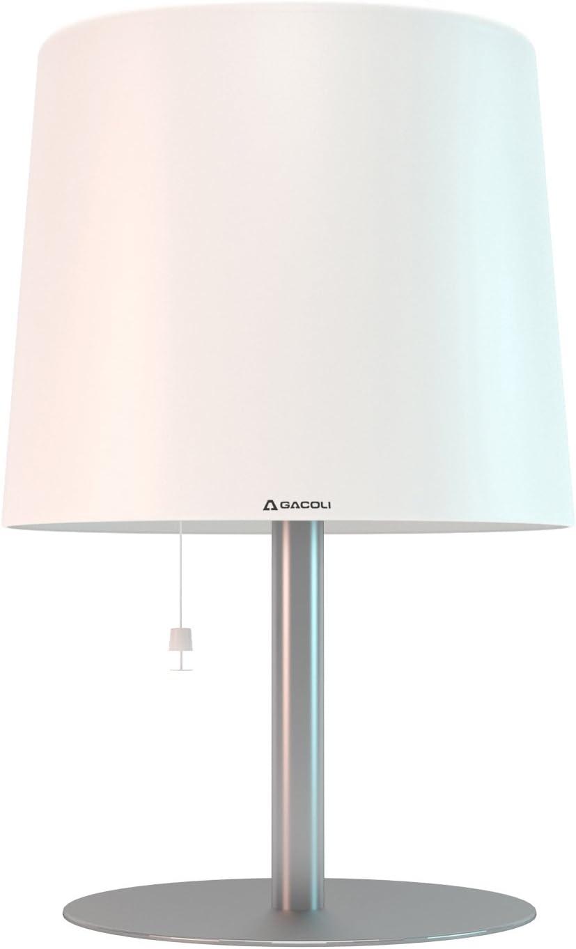 Gacoli Monroe Nr 2 Lampe Mit Sockel 45 X 30 Cm Weiss Amazon