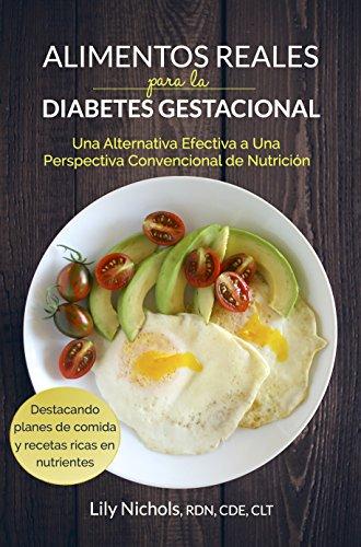 muestra de dieta para la diabetes gestacional durante el embarazo