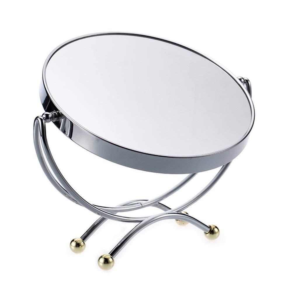 CZZ Espejo de Sobremesa Europeo Espejo de Metal de Sobremesa ...