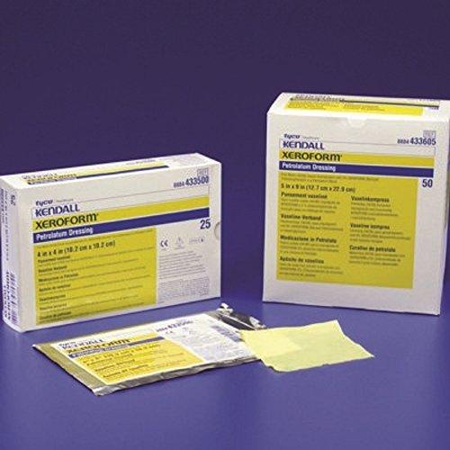 Xeroform - Petrolatum Impregnated Dressing - 1 X 8 Inch Gauze Bismuth Tribromophenate / Petrolatum Sterile - 200/Case - McK - Xeroform Petrolatum Gauze Dressing Case