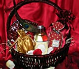 Scent of a Woman Romantic Gift Basket with Free Gift