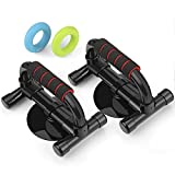 Kyпить INTEY Push up Bars Push up Handles Fitness Perfect Pushup Exercise Equipment with Strong Suction Bonus 2 Hand Strengthener Rings на Amazon.com