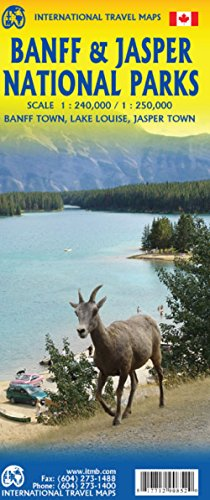 Banff & Jasper National Parks Travel Reference (English and French Edition)