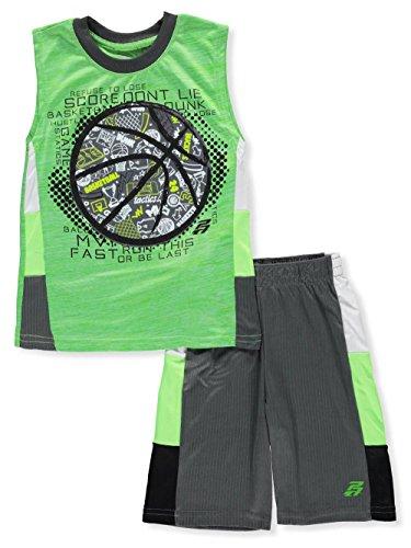 Pro Athlete Boys 2-Piece Short Set Outfit