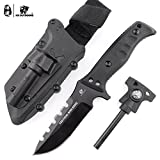 HX outdoors Tiger Shark Army Survival Knife Outdoor Tool High Hardness Tactical Knife