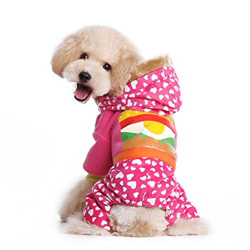 [Pety Pet Dogs Winter Sweater Coat Puppy Four Legs Costumes Apparel] (Costumes Braces)