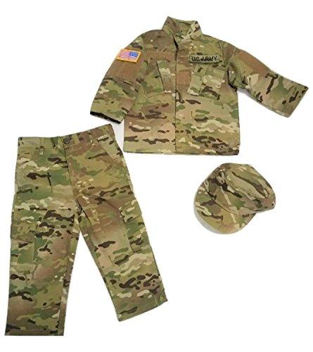 Kids U.S. Army Multicam Camo Pattern 5pc Uniform Set (X-Small)