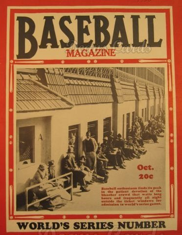 Baseball Magazine October 1936 (Baseball Magazine/Publication) Dean's Cards 3 - VG ()