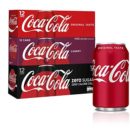 Coca-Cola Soft Drink Variety Pack, 12 fl oz, 36 Pack