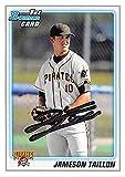 Jameson Taillon baseball card rookie 2010 Topps Bowman #BDPP79 (Pittsburgh Pirates Pitcher)