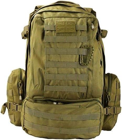 Viking Patrouille Pack Kombat 60 L Tactical Molle Sac à dos 3 jours Assault Sac à dos
