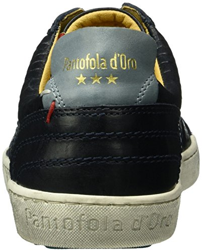 Pantofola d'Oro Canaverse Cocodrillo Uomo Low, Men's Low-Top Sneakers Blue (29y)