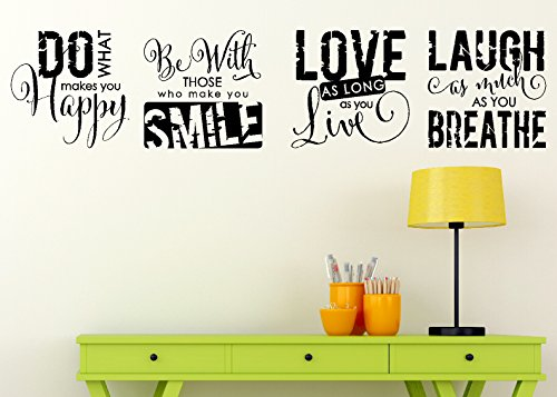 Wall Decor Plus More : Galleon wall decor plus more inspirational sticker