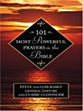 101 Most Powerful Prayers in the Bible, Claire Cloninger, 0786272252