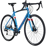 Raleigh Bikes Merit 3 Endurance Road Bike, Blue, 56cm/Large For Sale