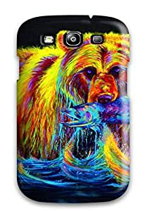 Everett L. Carrasquillo's Shop 9432127K13092456 Excellent Design Bear Phone Case For Galaxy S3 Premium Tpu Case