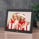 12 inch HD Digital Photo Frame Motion Sensor & 8GB Memory LED Digital