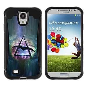 Suave TPU GEL Carcasa Funda Silicona Blando Estuche Caso de protección (para) Samsung Galaxy S4 IV I9500 / CECELL Phone case / / Space Travel Eagle Universe Triangle Symbol /