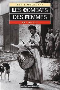 Les combats des femmes par Annie Goldmann
