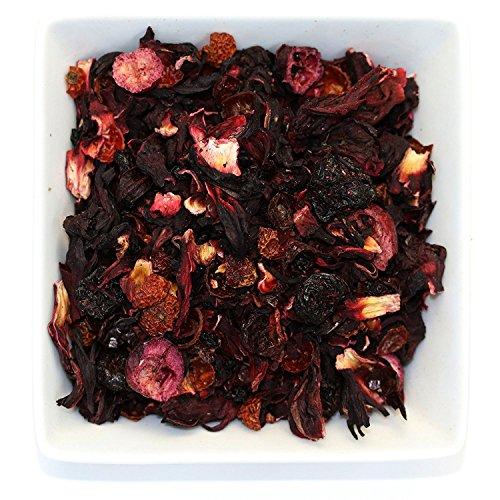 Tealyra - Cherry Goddess - Fruity Herbal Loose Leaf Tea - Caffeine-Free - Vitamin Rich - Hot and Iced - All Natural - 110g (4-ounce) (Fruity Tea)