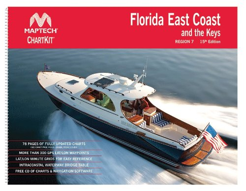 Maptech ChartKit® Book w/Companion CD - Florida East Coast & The Keys Florida Keys Chart Book
