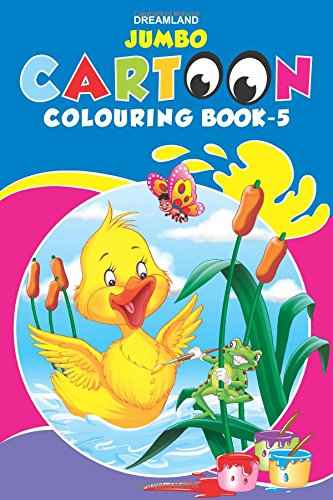 Jumbo Cartoon Colouring Book 5 (Jumbo Cartoon Colouring Books)