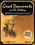 Great Documents in U. S. History Volume I, Richard Kollen, 0825159059