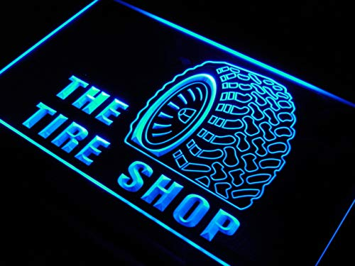 (ADVPRO Tire Shop Car Auto Repair Beer LED Sign Neon Light Sign Display)