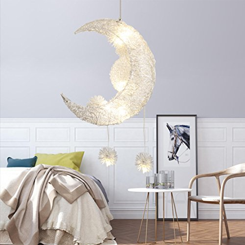 Moon And Stars Pendant Light in Florida - 3