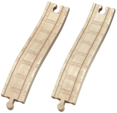 Thomas & Friends Wooden Railway - 8 Inch Ascending Track (2 pieces) TOMY LC99912