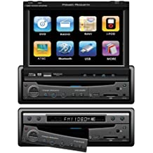 Power Acoustik PTID-8940NR Motorized Flip-Up Screen AM/FM DVD Receiver with New Graphics
