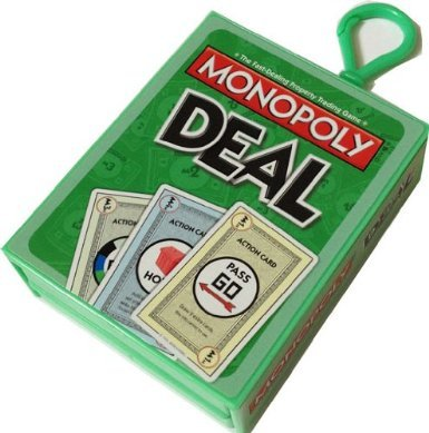 Monopoly Deal Mini Card Game Keychain: Amazon.es: Juguetes y ...