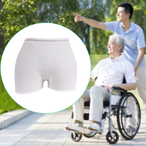 Carer Unisex Maternity or Incontinence Underwear Disposable Panties Brief (Large, 10pcs)