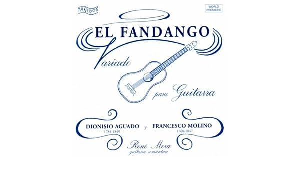 El Fandango Variado para Guitarra de René Mora en Amazon Music ...