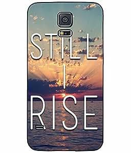 Still I Rise Plastic Phone Case Back Cover Samsung Galaxy S5 I9600
