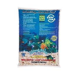 Nature\'s Ocean Bio-Activ Live Aragonite Reef Substrate, 8 lbs