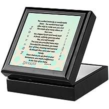 CafePress - Retired Nurse Poem Keepsake Box - Keepsake Box, Finished Hardwood Jewelry Box, Velvet Lined Memento Box