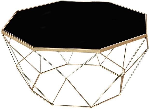 Tavolo In Ferro Battuto E Vetro.Tavolino Da Caffe A 8 Lati Tavolino In Ferro Battuto Moderno